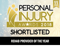 Claims Media Personal Injury Awards 2018 - Rehab Provider of the Year (Shortlist)